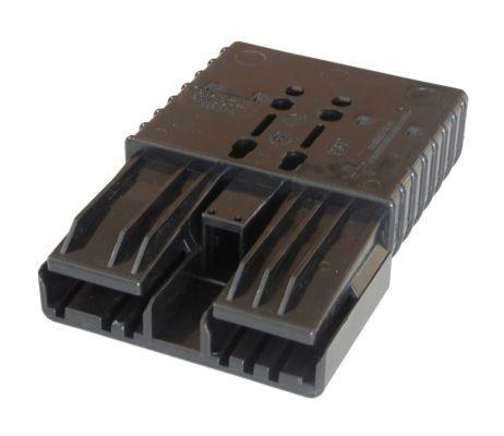 Anderson Flachkontaktstecker SBE 320, schwarz, 80 Volt, komplett mit Hauptkontakten