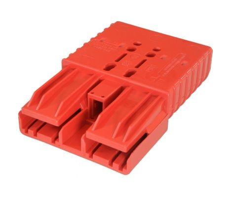 Anderson Flachkontaktstecker SBE 320, rot, 24 Volt, komplett mit Hauptkontakten
