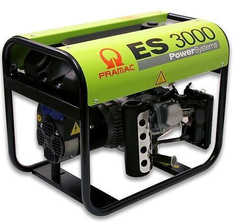 PRAMAC ES 3000 2600W 230V Benzin Stromerzeuger