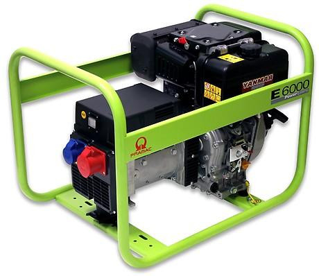 PRAMAC E 6000 5500W 230V / 400V Diesel Stromerzeuger