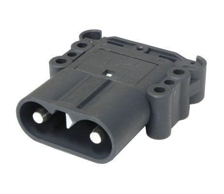 REMA Euro DIN 160 A Ladegerätestecker ohne Griff inkl. Hauptkontakthülsen