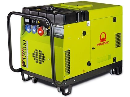 PRAMAC Stromerzeuger Diesel-Generator P 12000 E-Start | 230 / 400 V - 5,2 / 15,8 kVA