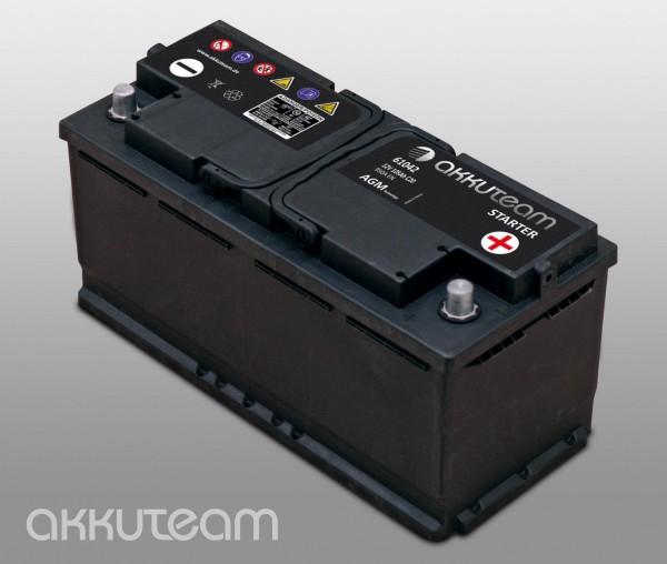 AGM Autobatterie 12V 105Ah 950A Start-Stop-Technologie