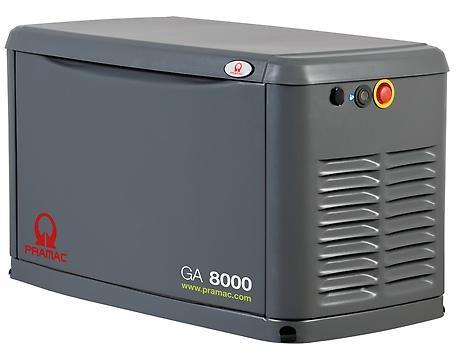 PRAMAC GA 8000 8000W 230V Gas Stromerzeuger