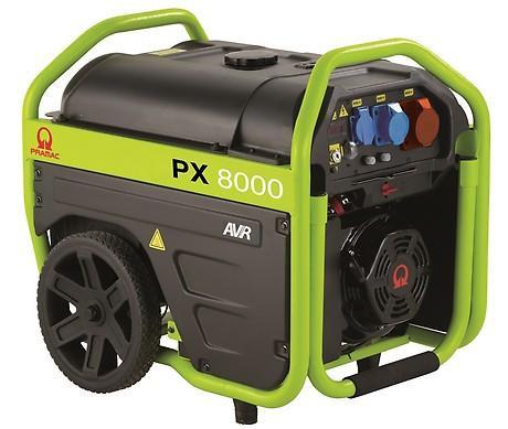PRAMAC PX 8000 4800W 230V / 400V Benzin Stromerzeuger E-Start Drehstrom
