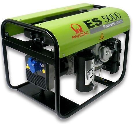 PRAMAC ES 5000 4600W 230V Benzin Stromerzeuger