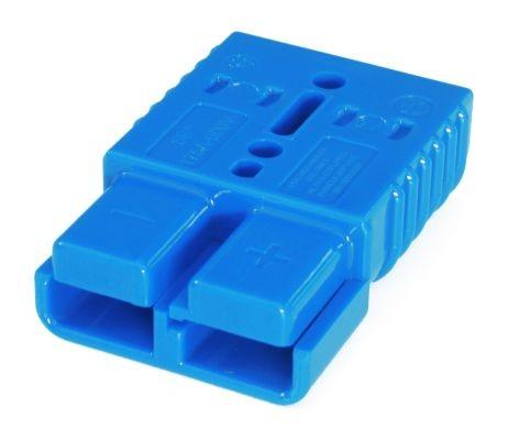 Anderson Flachkontaktstecker SB 175 in der Farbe blau, 48 Volt, komplett