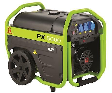 PRAMAC PX 5000 3600W 230V Benzin Stromerzeuger Lichtstrom
