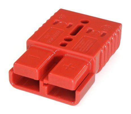 Anderson Geräte-Steckvorrichtung SB 175 in der Farbe rot, 24 Volt, komplett