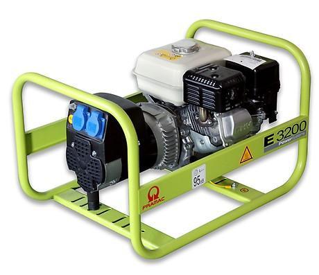 PRAMAC E 3200 2600W 230V Benzin Stromerzeuger Lichtstrom