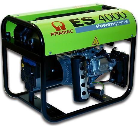 PRAMAC ES 4000 3100W 230V Benzin Stromerzeuger