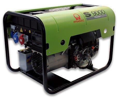 PRAMAC S 9000 8200W 230V / 400V Diesel Stromerzeuger E-Start