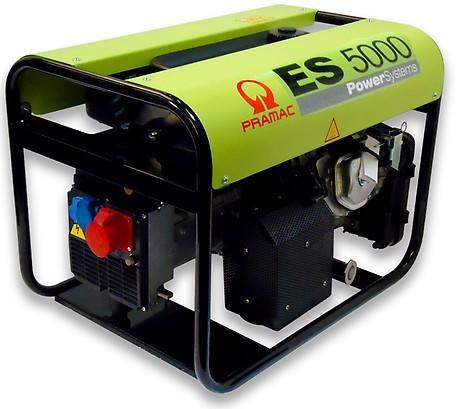 PRAMAC ES 5000 5000W 230V / 400V Benzin Stromerzeuger