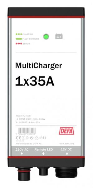 DEFA MultiCharger 1 x 35 A Auto Batterieladegerät