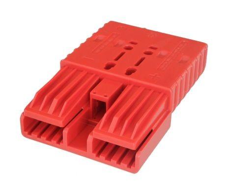 REMA Flachkontaktstecker SRX 350, rot, 24 Volt, komplett mit wählbaren Hauptkontakten