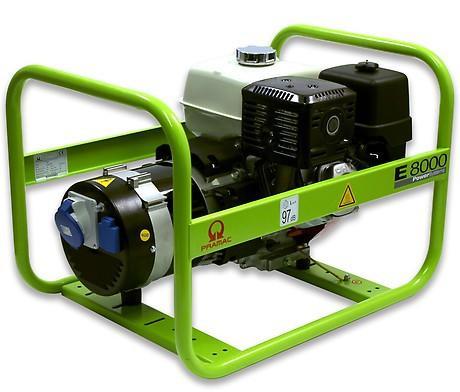 PRAMAC E 8000 6400W 230V Benzin Stromerzeuger Lichtstrom