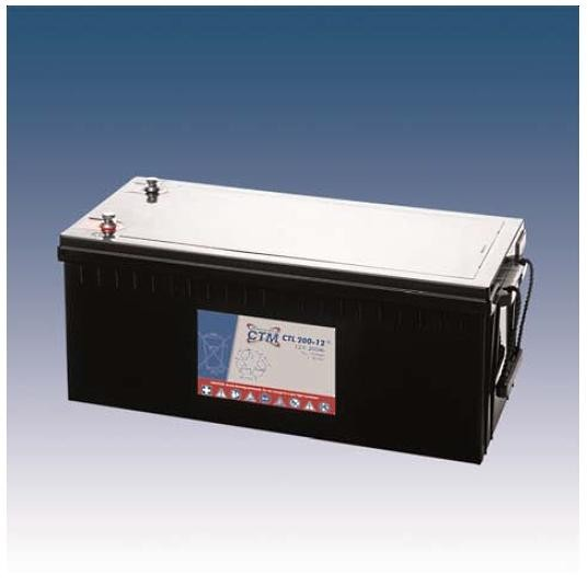 CTM Glasfaservlies (AGM) Batterie CTL 200-12 Long Life | 200Ah - 12V
