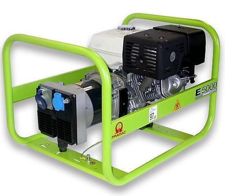 PRAMAC E 5000 4600W 230V Benzin Stromerzeuger Lichtstrom