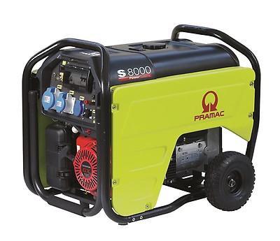 PRAMAC S 8000 6400W 230V Benzin Stromerzeuger E-Start