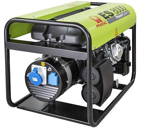 PRAMAC ES 8000 6400W 230V Benzin Stromerzeuger