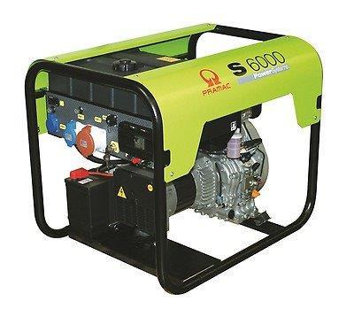 PRAMAC S 6000 5500W 230V / 400V Diesel Stromerzeuger E-Start