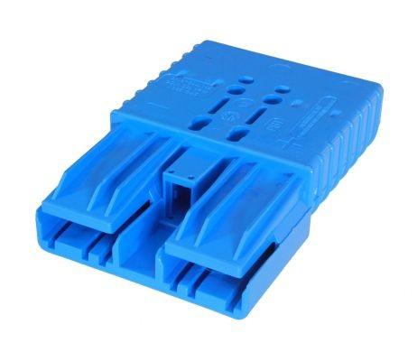 Anderson Flachkontaktstecker SBE 320, blau, 48 Volt, komplett mit Hauptkontakten