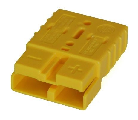 Anderson Flachkontaktstecker SB 50, gelb, 12 Volt, komplett
