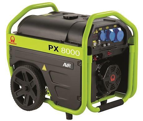 PRAMAC PX 8000 5400W 230V Benzin Stromerzeuger E-Start Lichtstrom