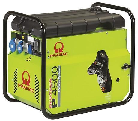 PRAMAC P 4500 3700W 230V Diesel Stromerzeuger schallgedämmt SYA E-Start