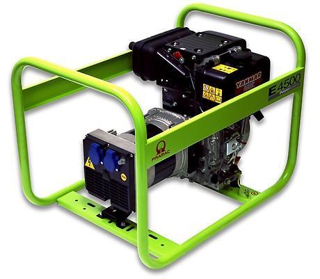 PRAMAC E 4500 3700W 230V Diesel Stromerzeuger Lichtstrom