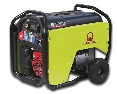 PRAMAC S 8000 6600W 230V / 400V Benzin Stromerzeuger E-Start