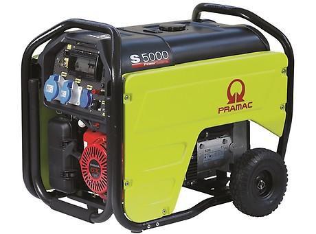 PRAMAC S 5000 5000W 230V / 400V Benzin Stromerzeuger