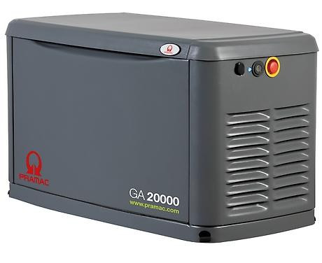 PRAMAC GA 20.000 16.000W 230V Gas Stromerzeuger