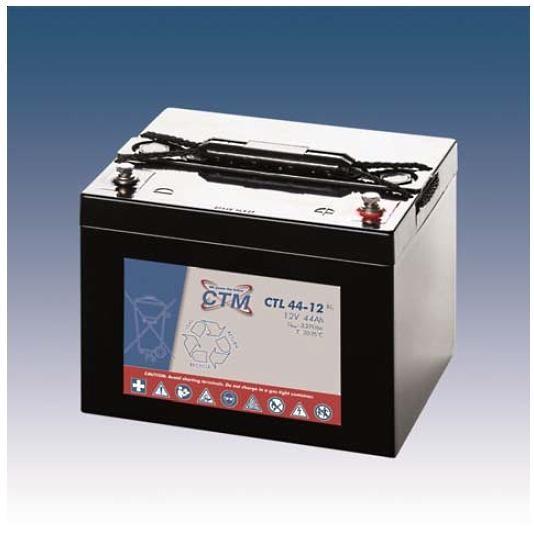 CTM Glasfaservlies (AGM) Batterie CTL 44-12 Long Life   44Ah - 12V