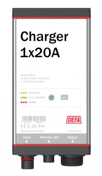 DEFA MultiCharger 1 x 20 A Auto Batterieladegerät