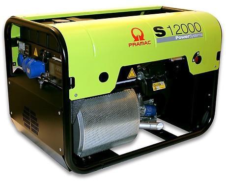 PRAMAC S 12000 10.700W 230V Benzin Stromerzeuger E-Start