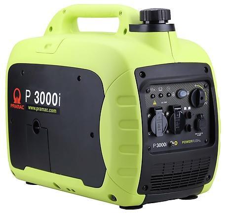PRAMAC P 3000i 2500W 230V Benzin Stromerzeuger Inverter