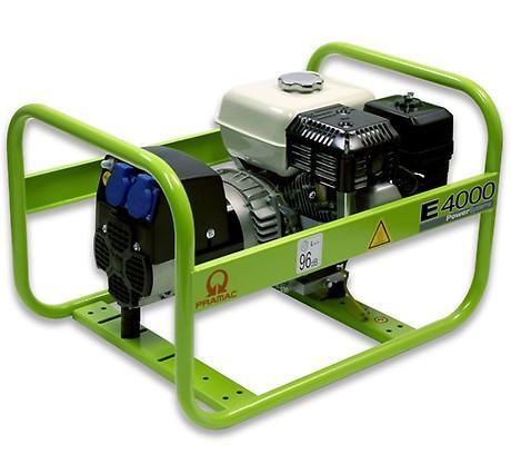 PRAMAC E 4000 3100W 230V Benzin Stromerzeuger