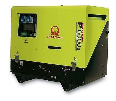 PRAMAC P 6000S 5400W 230V Diesel Stromerzeuger schallgedämmt E-Start