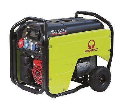 PRAMAC S 5000 6600W 230V / 400V Benzin Stromerzeuger E-Start