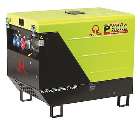 PRAMAC P 9000 8500W 230V / 400V Diesel Stromerzeuger schallgedämmt E-Start