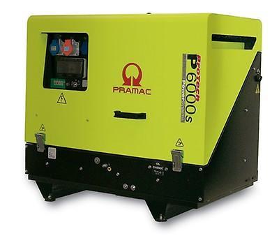 PRAMAC P 6000S 5500W 230V / 400V Diesel Stromerzeuger schallgedämmt E-Start