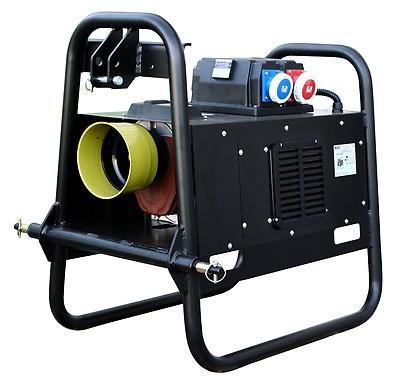 PRAMAC TG 20/3 AVR 18 kVA 230V / 400V Zapfwellengenerator