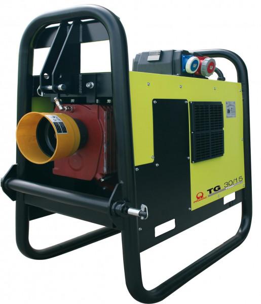PRAMAC TG 30 / 15 AVR 27 kVA 230V / 400V Zapfwellengenerator