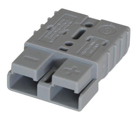 Anderson Flachkontaktstecker SB 50, grau, 36 Volt, komplett