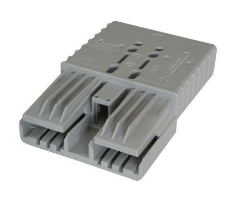 Anderson Flachkontaktstecker SBE 320, grau, 36 Volt, komplett mit Hauptkontakten